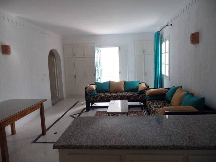 Djerba apartment B, downtown, close to beaches