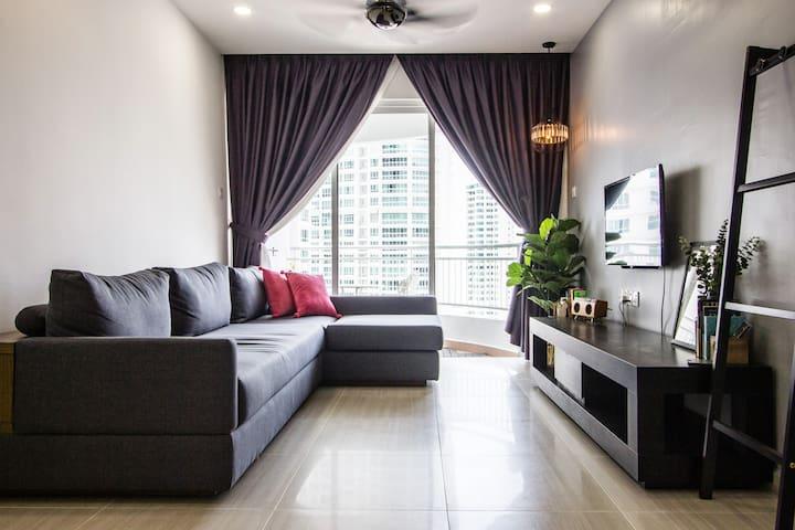 Scandinavian Lodge II | Jalan Kelawai 北歐工業風3房公寓
