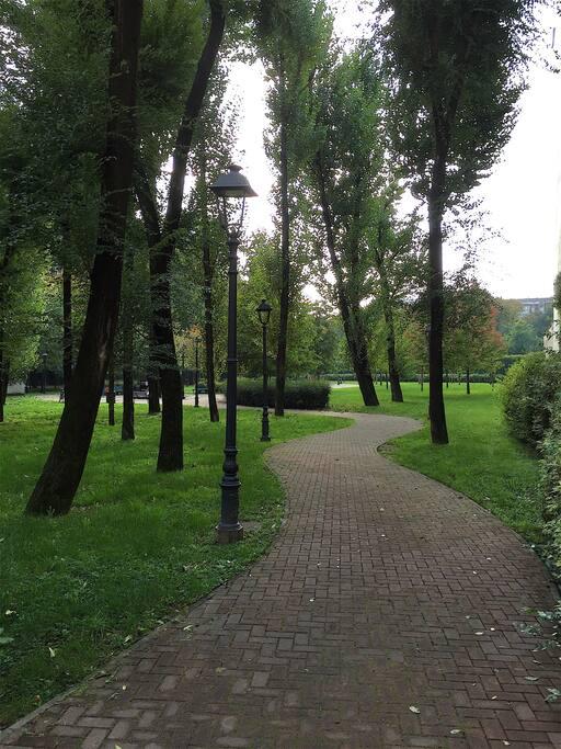 Parco adiacente