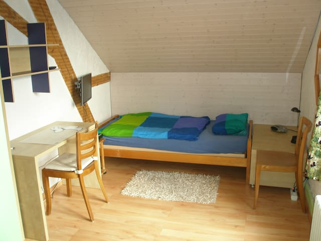 Cosy room between Aarau and Olten