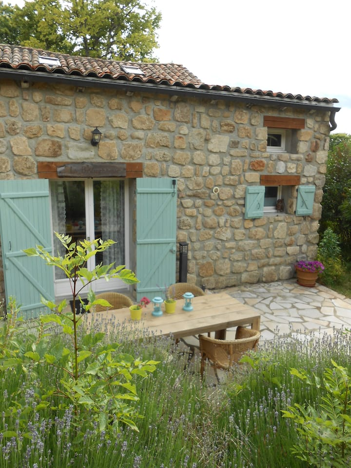 Frenche gîte in the ardeche