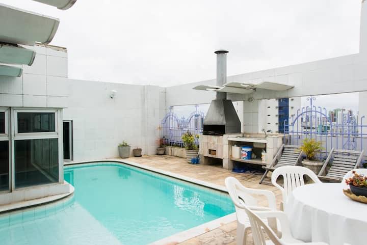 Penthouse  pool boa viagem beach