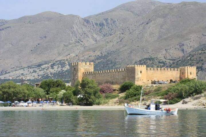 The Castle of Fragkokastello