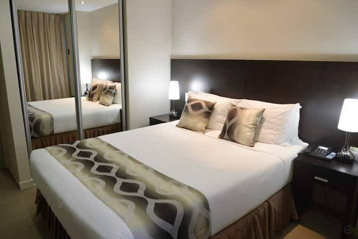 Luxury Two Bedroom apartment in a modern Hotel