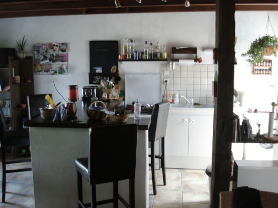 Côté cuisine - le bar