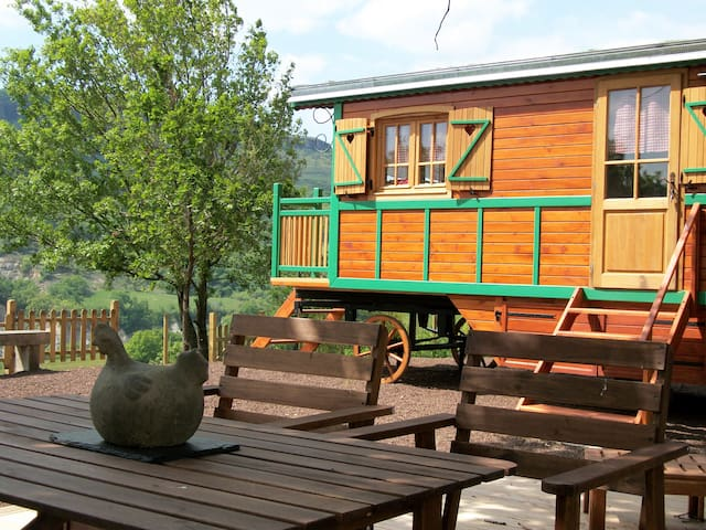 Ecofriendly rolling house - Saint-Jean-le-Centenier - Cabana