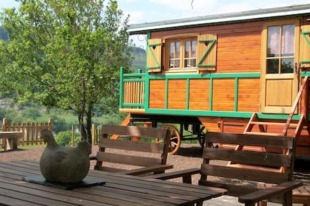 Ecofriendly rolling house - Saint-Jean-le-Centenier