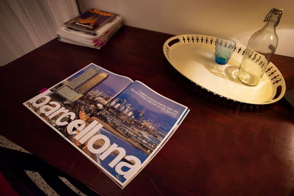 some of the magazines, books and guides on barcelona that you can find in the library