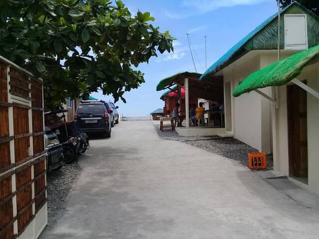 Main Entrance and Driveway