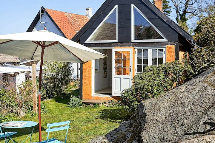Vintage Holiday Home in Svaneke Near Small Harbor