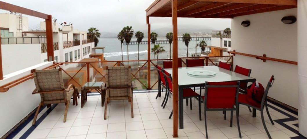 Duplex in Cerro Azul beach, Lima - Cerro Azul - Leilighet