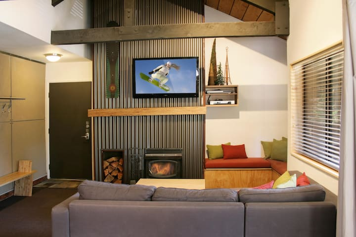 Rustic Modern Condo in Mammoth - Mammoth Lakes - Daire