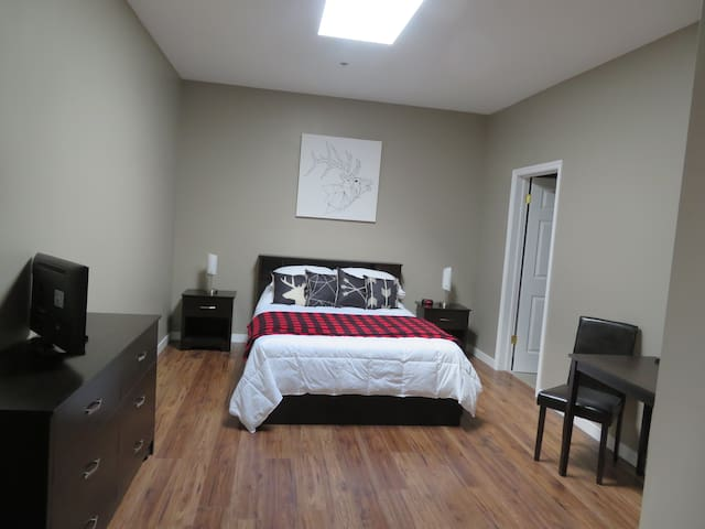 DOWNTOWN PRIVATE ENSUITE #1, 5 MIN TO SKI HILL