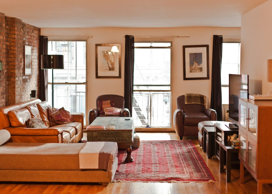 Full Floor Trendy SOHO Loft 1600ft2 Lofts For Rent In New York New York U