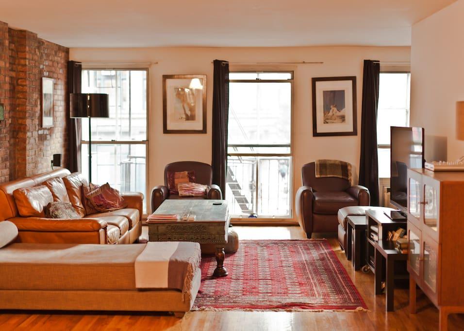 Full Floor Trendy SOHO Loft 1600ft2 Lofts For Rent In New York New York U