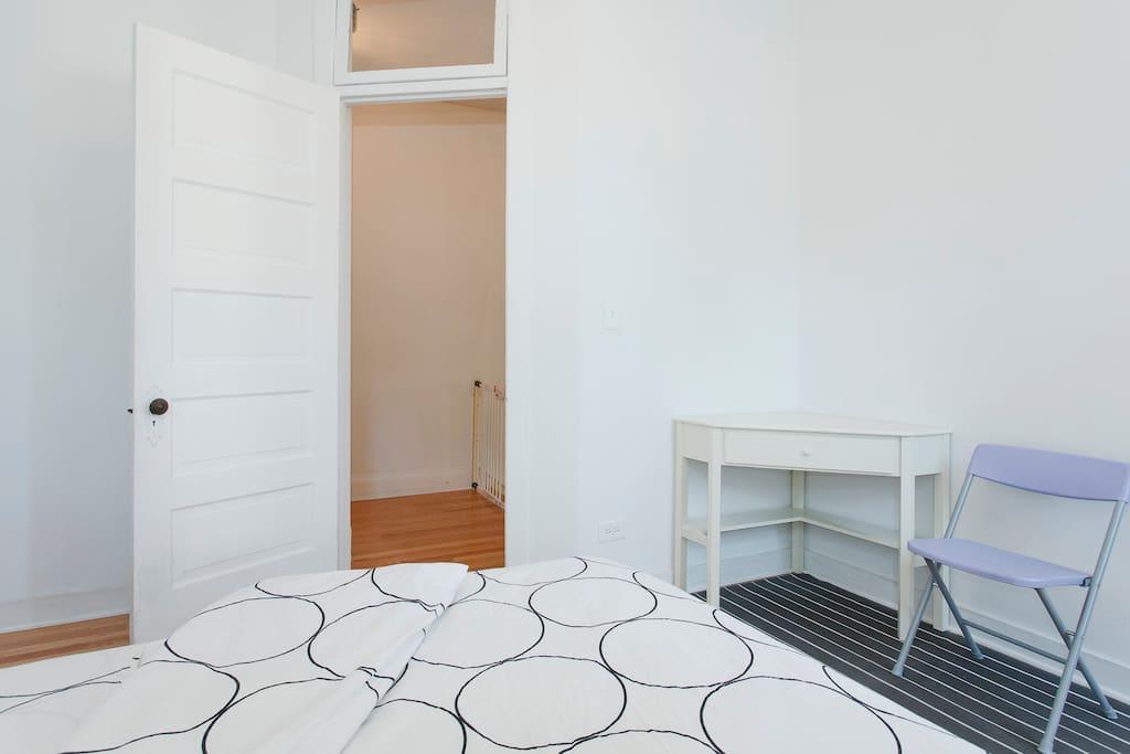 We have a corner desk for your laptop