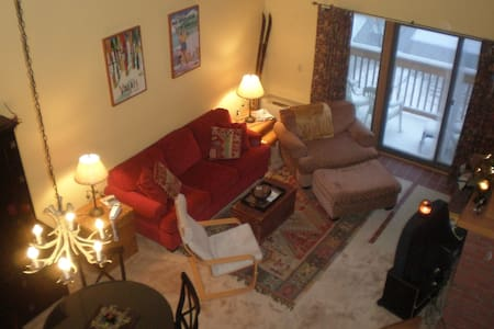 MOUNT SNOW CHALET/LOFT  CONDO - West Dover - アパート