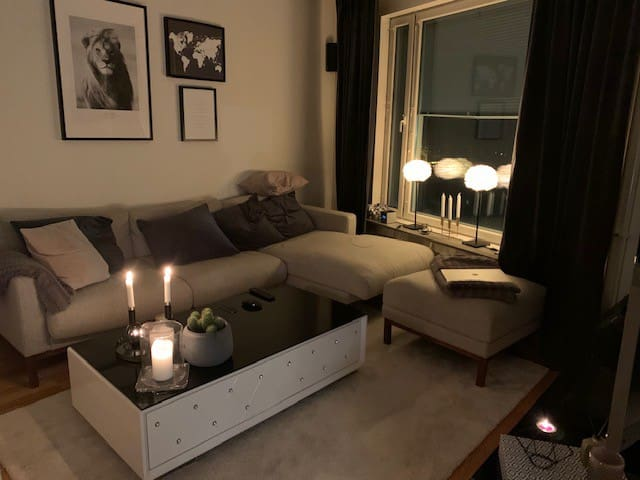 Cozy apartment 5 min walk from Mall of Scandinavia