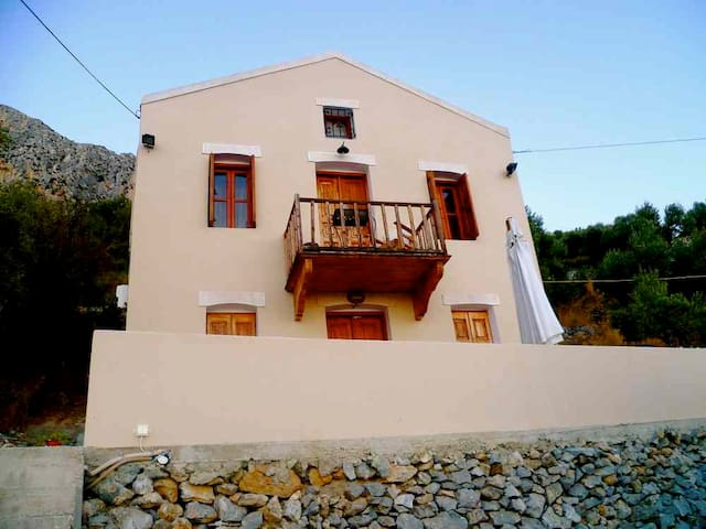 Cosy maisonette with fantastic view - Mirties - House