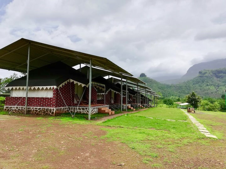 Luxurious Maharaja Tents near Karjat.Heart Nature.