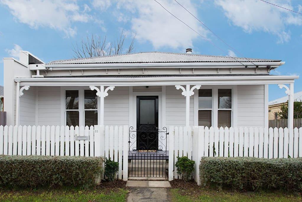Villa white charming city escape maisons louer - La villa rahimona en nouvelle zelande ...