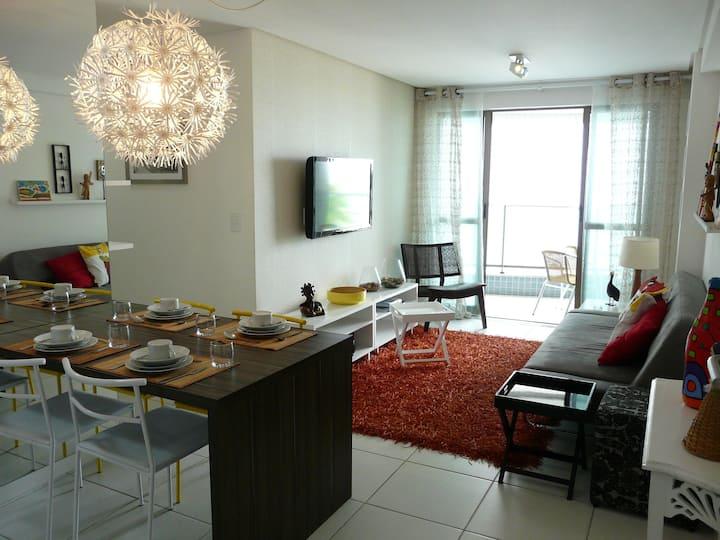 Wonderful apartment in Boa Viagem Beach