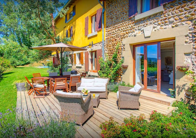 OVO NETWORK - Restored Drome farm, on 18+9 hole golf course with a pool - Albon