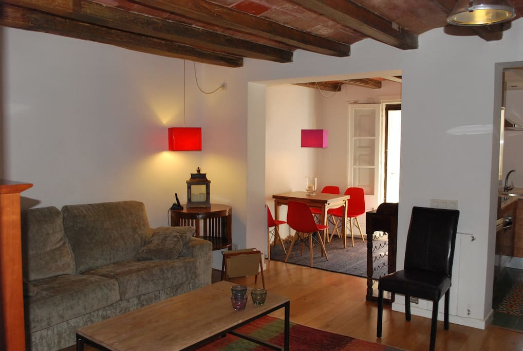 Renewed apartment at The Eixample