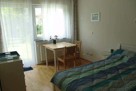 Ruhig, zentral, 10 Min zur Messe - Frankfurt - Apartment