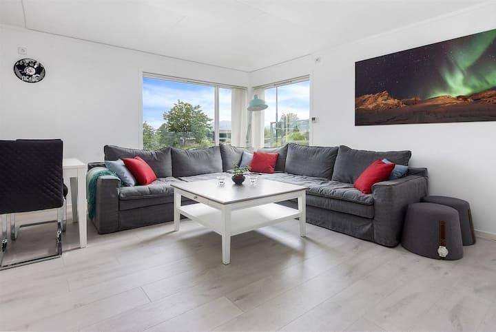 Fin leilighet leies ut for kort -og langtidsutleie