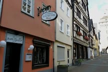 romantisch wohnen in der Altstadt