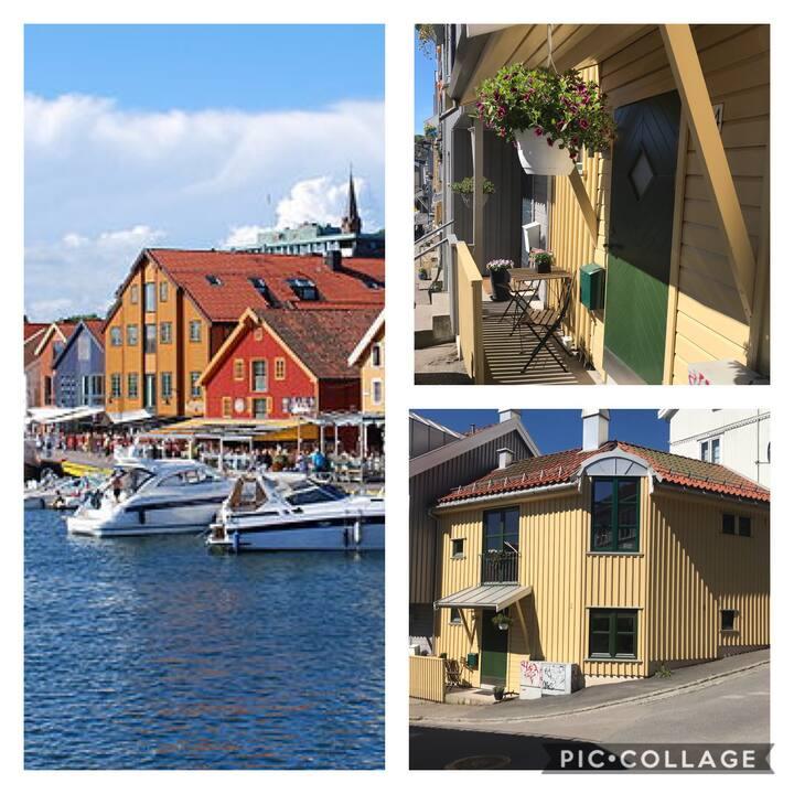 Hyggelig hus midt i Tønsberg sentrum