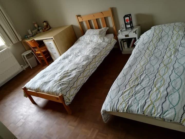 Jolie chambre 2 lits