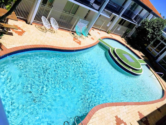 Lovely large inground pool perfect for summer days lazing by the pool!