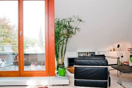 Deluxw-Apartm. with roof terrace - Munich - Apartment