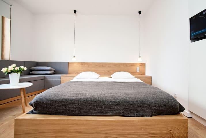 Duże i wygodne łoże
