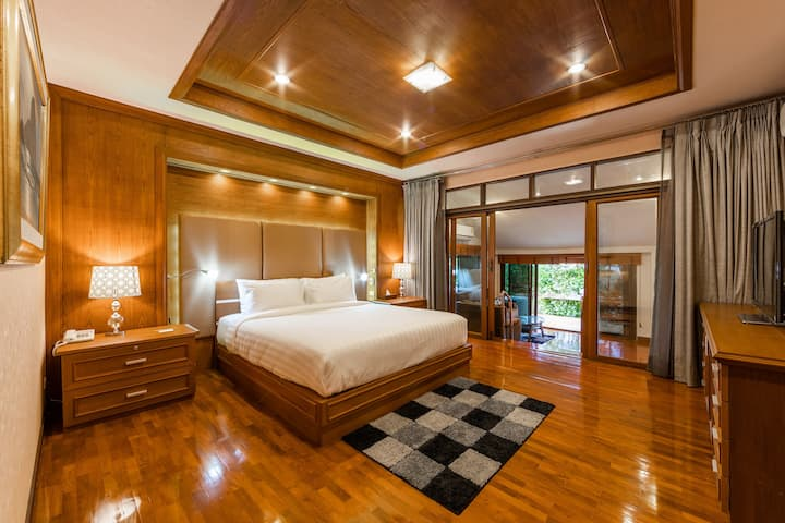 清迈天鹅基里独家农场度假村:高档大家庭房56平方米含早餐