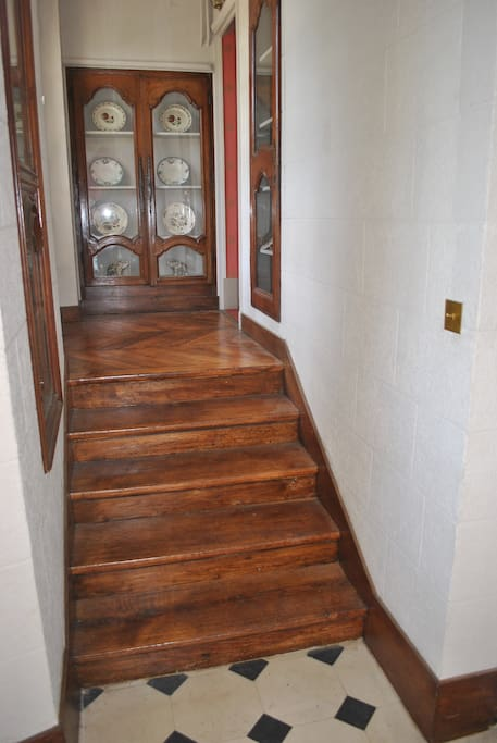 accès aux chambres d'hôtes