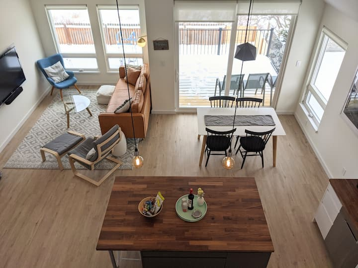 Bozeman Creek Loft - Now sleeps 4!