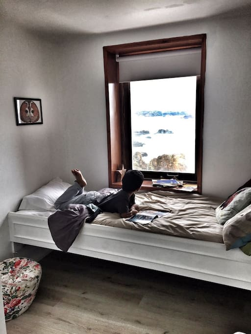 Children bedroom with a view
