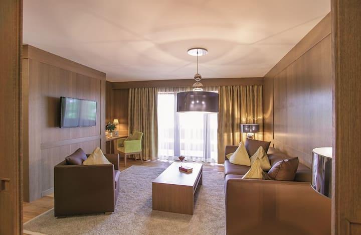 Der Eisvogel Hotel - Gasthof - SPA (Bad Gögging), Idyll Suite mit kostenfreiem WLAN und Dachterrasse