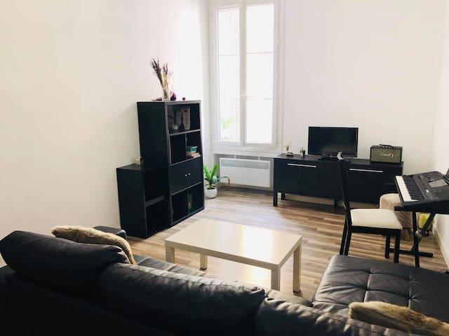 Appartement coeur d'Aix en Provence cours Mirabeau
