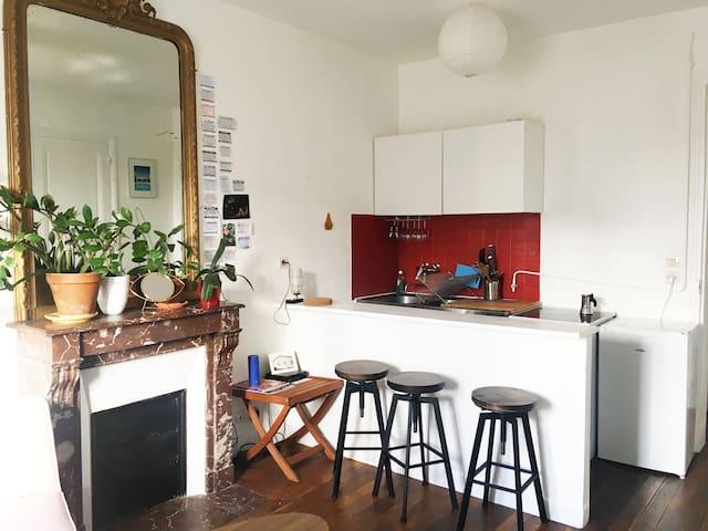 Appartement entier - Buttes Chaumont