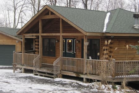Luxury Deep Creek Lake Log Home Close to it all! - Deep Creek Lake