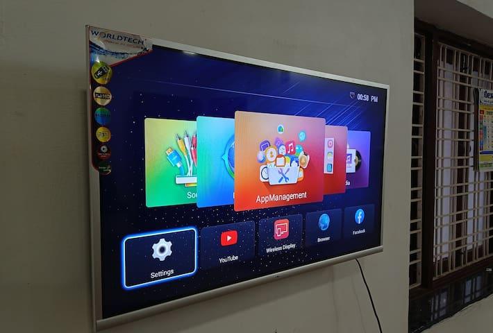SMART TV in hall