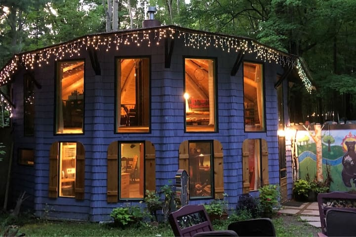 Birchwood Blue Cabin-