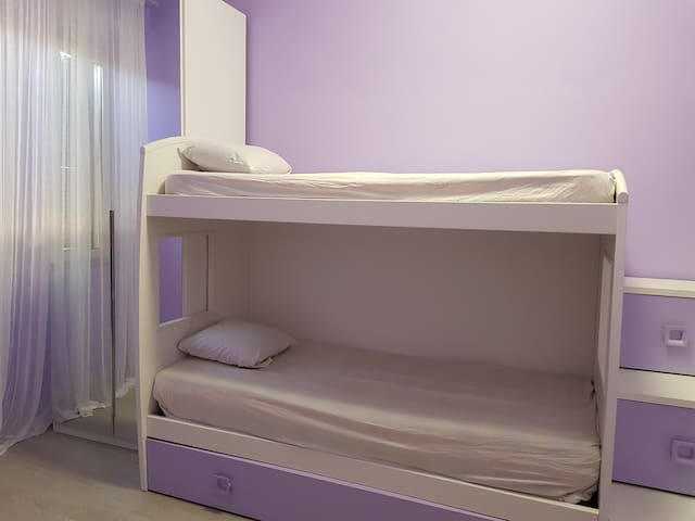 LA Sapienza Room, 1 bunked Bed