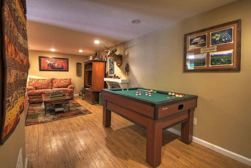 Tranquilidad offers guests a place to play and relax