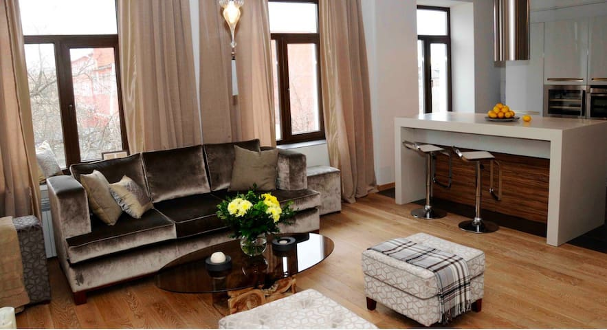 STYLISH APARTMENT IN CITY CENTER/85 - Kaluga - Appartement