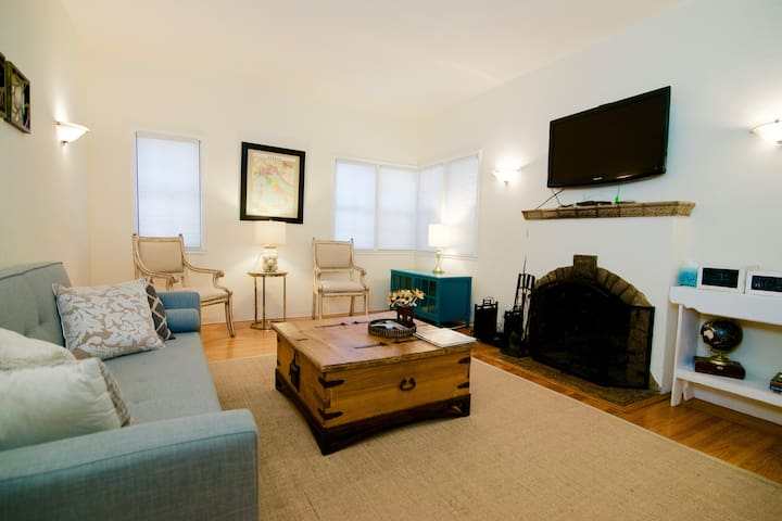 Adorable, Charming, Fireplace B2 - Redwood City - Appartement